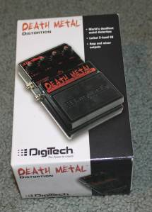 Digitech's Death Metal Pedal (box)