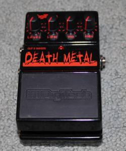 Digitech's Death Metal Pedal